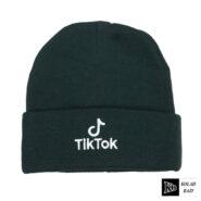 کلاه تک بافت تیک نوک سبز