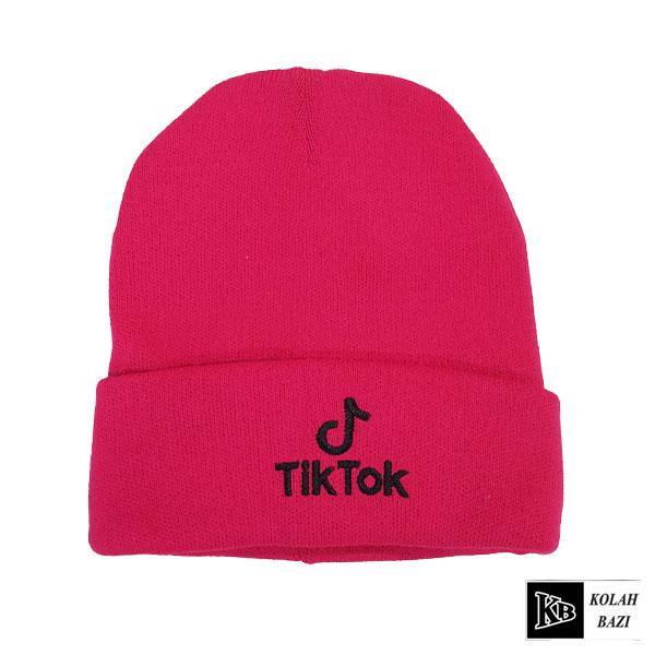 کلاه تک بافت سرخ آبی