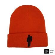 کلاه تک بافت بیلی نارنجی