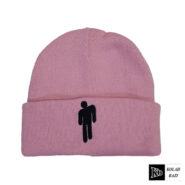 کلاه تک بافت صورتی