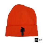 کلاه تک بافت نارنجی بیلی