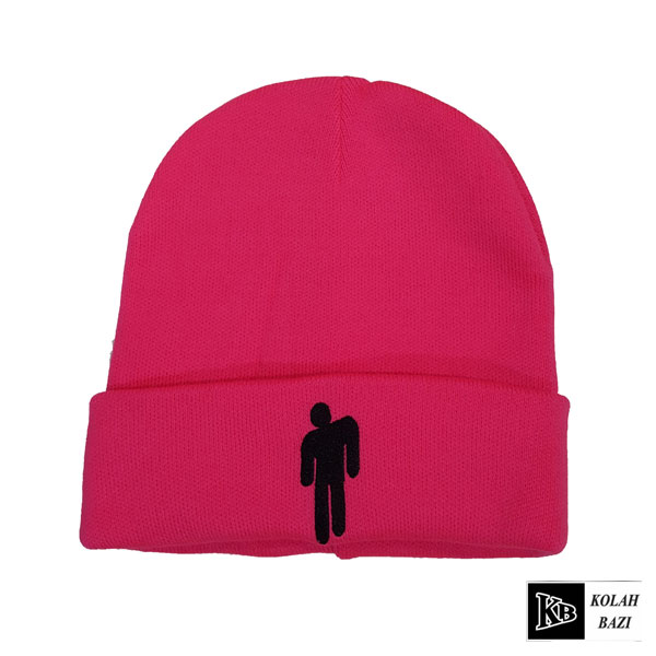 کلاه تک بافت بنفش بیلی