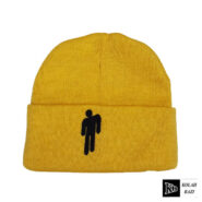 کلاه تک بافت زرد بیلی