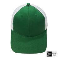 کلاه پشت تور سبز