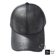 کلاه بیسبالی مشکی حلقه دار