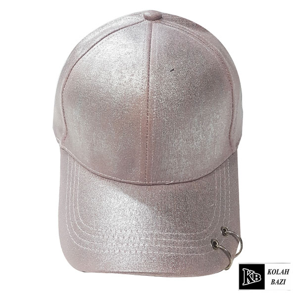 کلاه بیسبالی صورتی حلقه دار