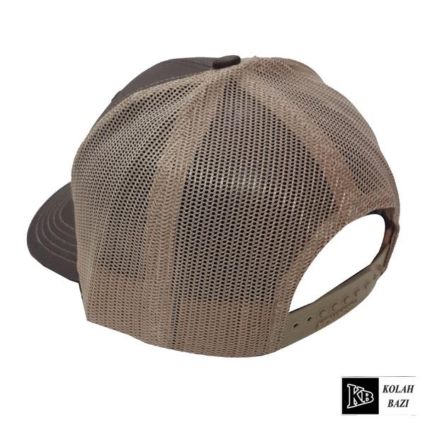 کلاه پشت تور ساده قهوه ای