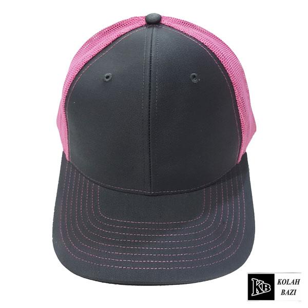کلاه پشت تور طوسی صورتی