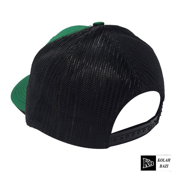 کلاه پشت تور مشکی سبز