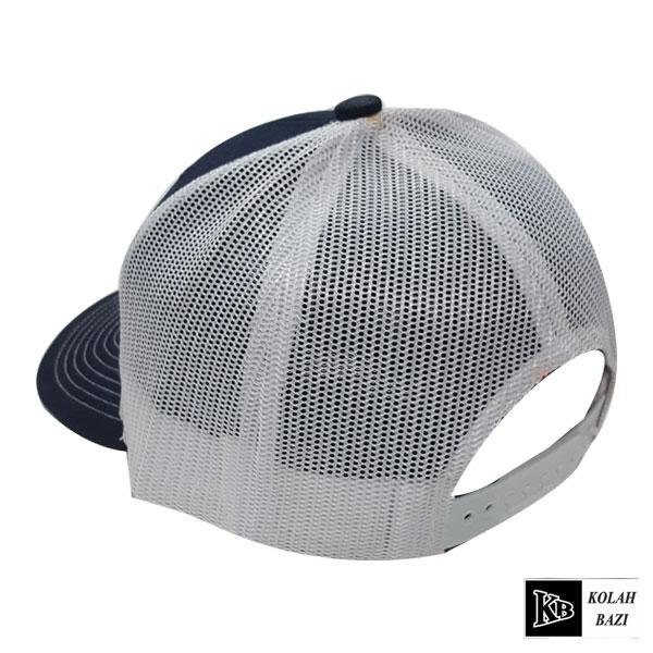 کلاه پشت تور سرمه ای سفید