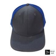 کلاه پشت تور طوسی آبی