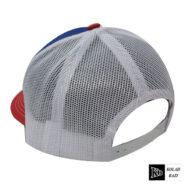 کلاه پشت تور آبی قرمز