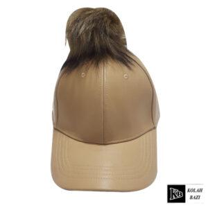 کلاه بیسبالی پوم دار کرم