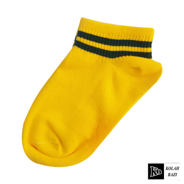 جوراب مچی زرد مشکی