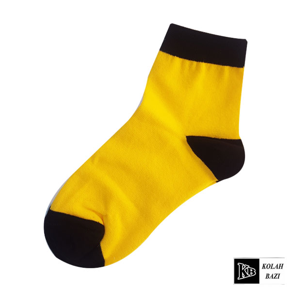جوراب زرد ساق دار