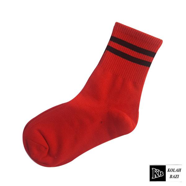 جوراب قرمز مشکی