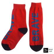 جوراب قرمز