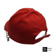 کلاه بیسبالی قرمز زنجیر