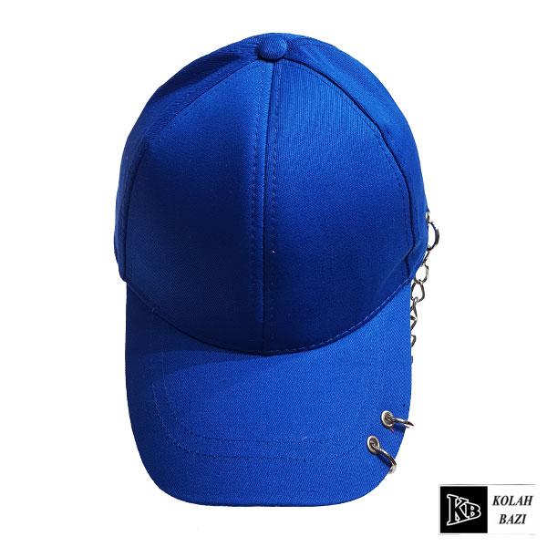 کلاه بیسبالی آبی زنجیر