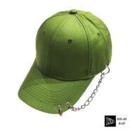 کلاه بیسبالی سبز زنجیر