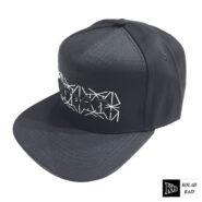 کلاه کپ مشکی سفید