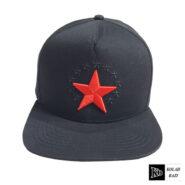 کلاه کپ مشکی ستاره قرمز