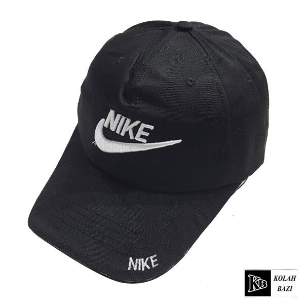 کلاه بیسبالی مشکی سفید