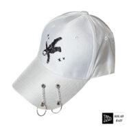 کلاه بیسبالی سفید