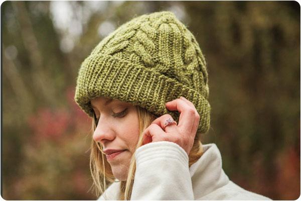 کلاه بافت زنانه ساده