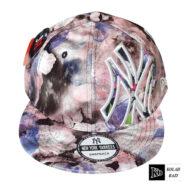 کلاه کپ صورتی ny