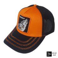 کلاه پشت تور نارنجی