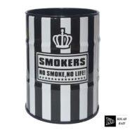 زیر سیگاری بشکه ای