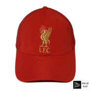 کلاه پشت تور لیورپول قرمز