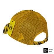 کلاه پشت تور زرد